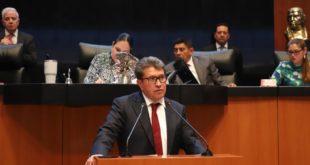 Rechaza Senado moción de Monreal para repetir voto sobre titular de CNDH