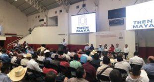 Realiza Gobierno primeras asambleas sobre Tren Maya con pueblos indígenas