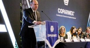 Reeligen a Gustavo de Hoyos Walther como presidente de Coparmex para 2020