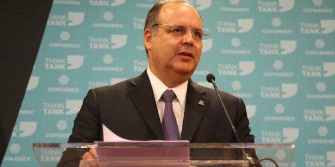 Presidente de Coparmex no representa a los empresarios, apunta AMLO