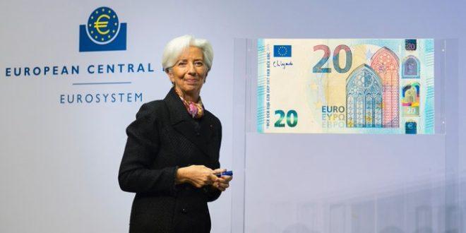 Lagarde 'se inicia' en el BCE; deja sin cambios política monetaria