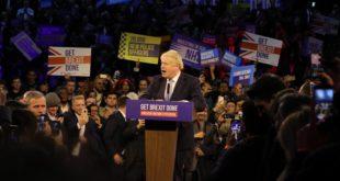 Sondeos apuntan a una victoria decisiva para Boris Johnson en elecciones de Reino Unido