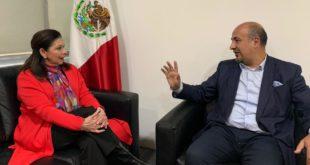 Embajadora Teresa Mercado llega a México tras ser expulsada de Bolivia