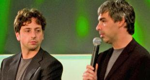 Co-fundadores de Google dejan sus puestos al frente de Alphabet