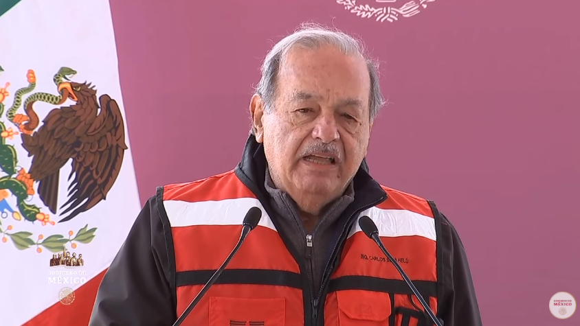 México es la mejor alternativa para invertir, dice Carlos Slim a empresarios