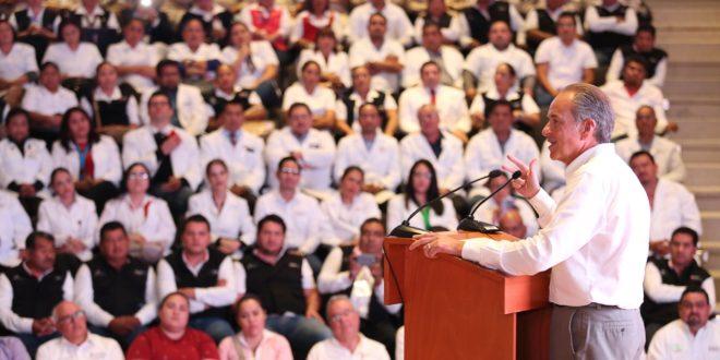 Gobierno de SLP entrega equipo a 102 Unidades de Salud