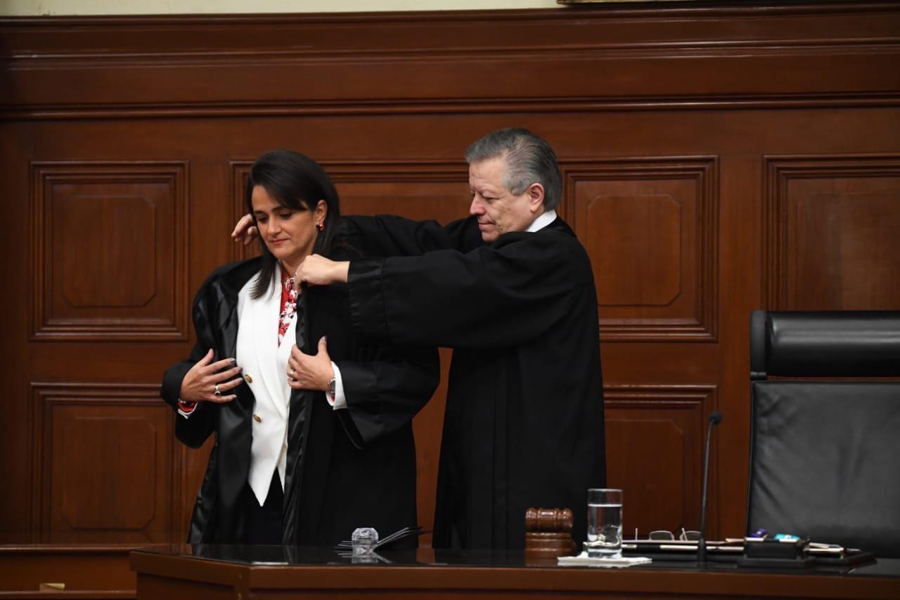 Inicia Margarita Ríos-Farjat funciones como ministra en la SCJN