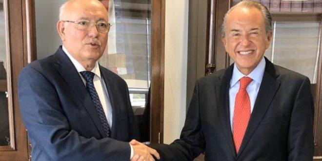Gobernador de SLP se reúne con titular de Auditoría Superior