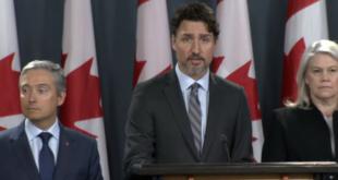"""Trudeau, """"furioso e indignado"""" por avión derribado, T-MEC"""