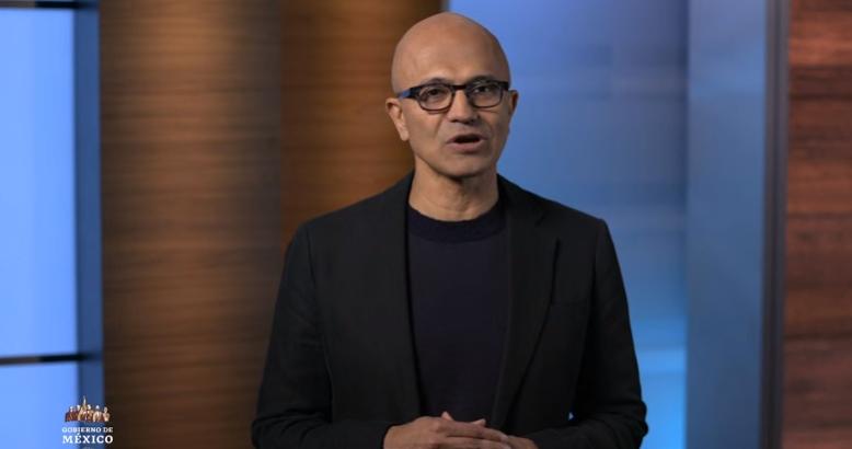 Invertirá Microsoft mil 100 millones de dólares en México