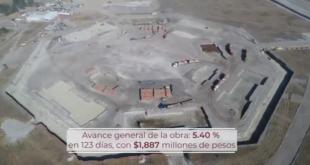 Obras en aeropuerto en Santa Lucía registran avance de 5.4%