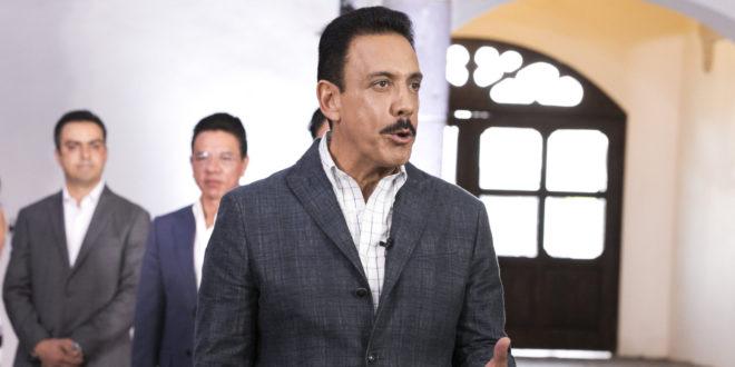 Gobernador de Hidalgo, contagiado de coronavirus