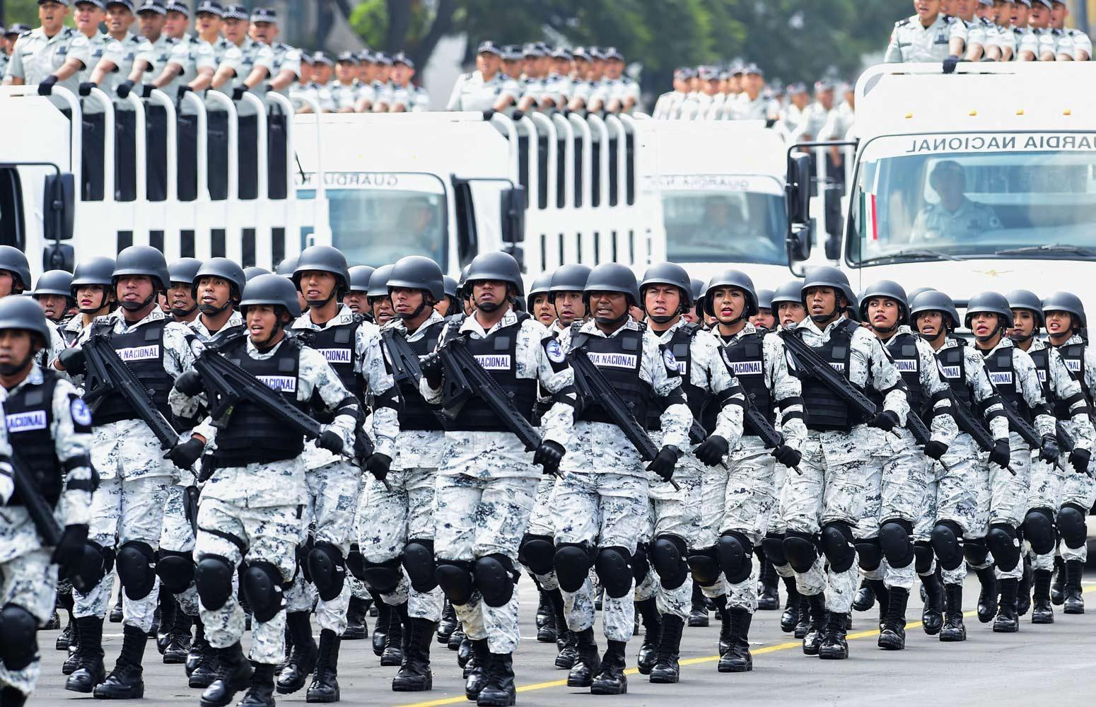 estrategia de seguridad, homicidios, Guardia Nacional