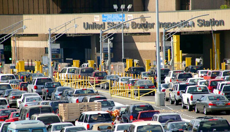 frontera, Estados Unidos