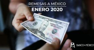 Remesas tienen su mayor avance desde septiembre de 2019