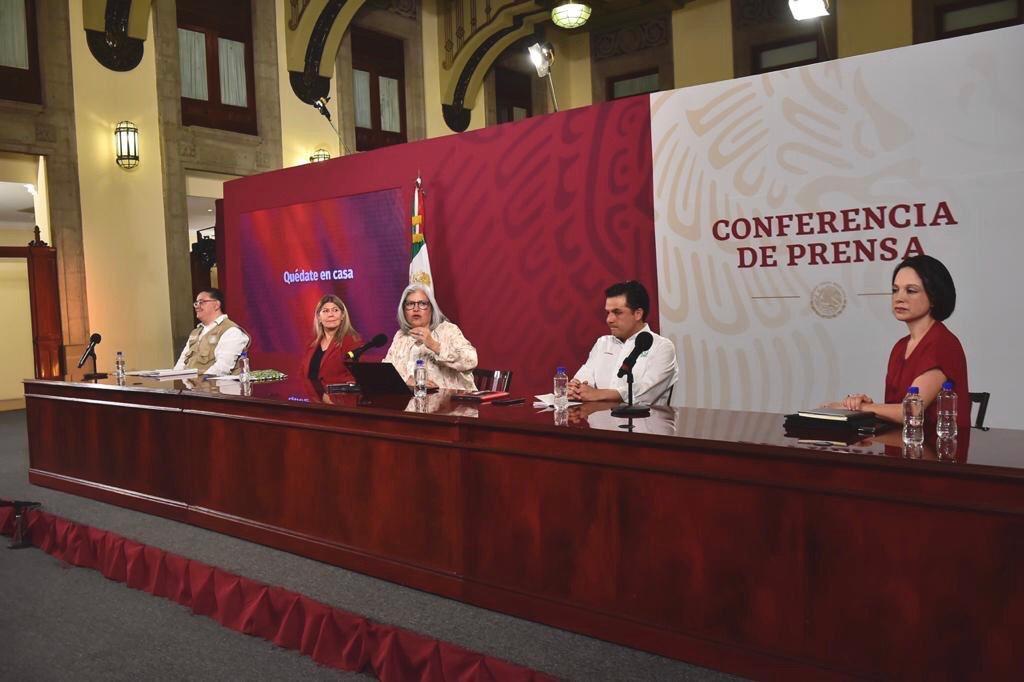 Conferencia de prensa: Créditos a la palabra para reactivar economía del 25 de abril
