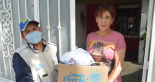 "Amplían programa ""Comida en casa"" en San Luis Potosí"