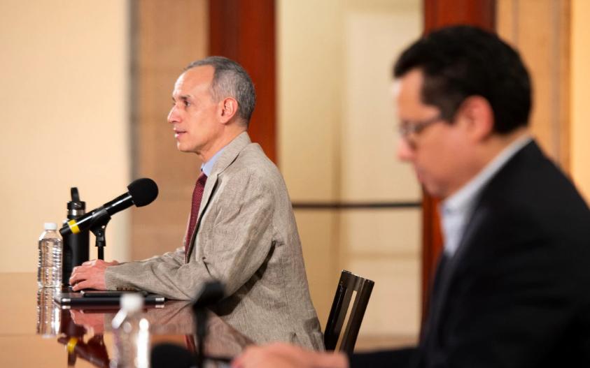 Hugo López-Gatell, Secretaría de Salud, coronavirus, covid-19, conferencia