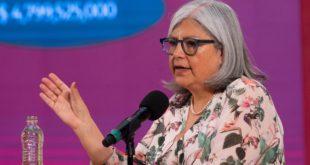 Reapertura total en México será difícil sin vacuna contra COVID-19: Graciela Márquez