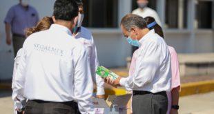 Gobierno de SLP da banderazo para 49 mil apoyos alimentarios a familias del estado