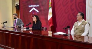 STPS, Luisa Alcalde, Bienestar, conferencia