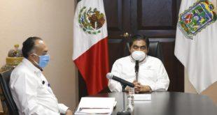 Automotrices no podrán reabrir en junio, dice gobernador de Puebla