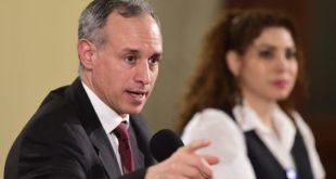 Contagios de coronavirus han bajado hasta 75% por Sana Distancia, asegura López-Gatell
