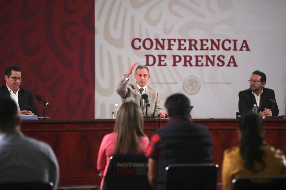 SECRETARÍA DE SALUD, CORONAVIRUS, COVID-19, EPIDEMIA, HUGO LÓPEZ-GATELL, conferencia