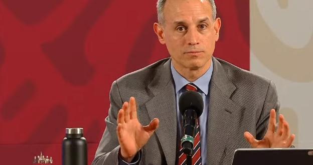 """""""Estamos en el punto máximo de intensidad del Covid-19"""": López-Gatell"""