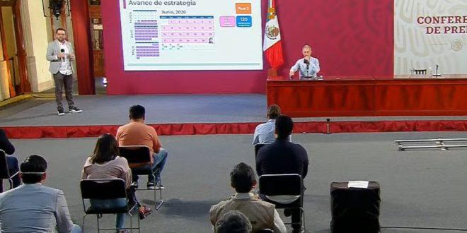 México llega a 212 mil 802 casos de Covid-19; muertes suman 26 mil 381