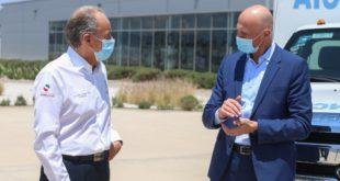 Gobernador de SLP supervisa arranque de operaciones en planta de BMW