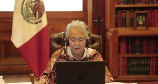 Segob se reúne de nuevo con gobernadores; pide coordinación para reapertura