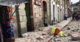 Sismo en Oaxaca deja una persona muerta y un herido