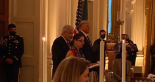 México, dispuesto a favorecer inversiones: AMLO en cena con Trump