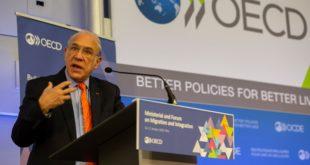 Ángel Gurría no buscará otro período al frente de la OCDE