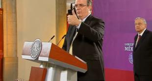 México desterrará corrupción con convenio para compra de medicamento: Ebrard