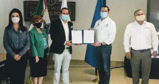 Ayuntamiento de SLP firma convenio para impulsar emprendimiento