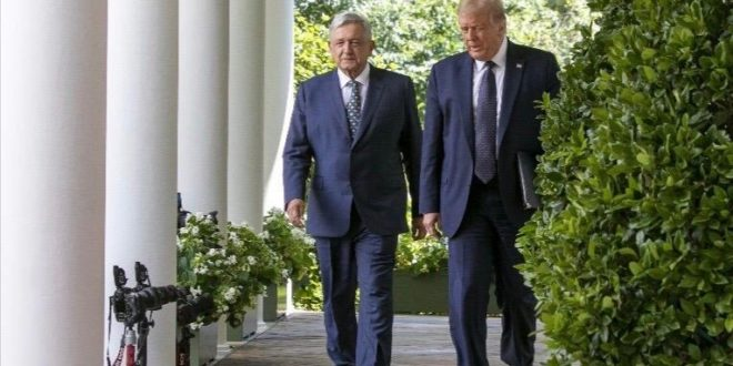 Trump tiene invitación abierta para venir a México: AMLO