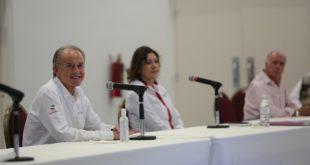 Gobernador de SLP se reúne con varios sectores para coordinar esfuerzos contra COVID