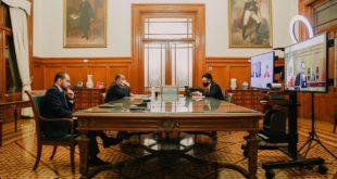 Arturo Herrera conversa sobre crisis del COVID con ministros de Finanzas del G20
