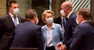 Europa acuerda 'histórico' paquete de recuperación contra crisis del coronavirus