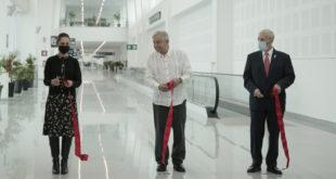 Inauguran ampliación de Terminal 2 del AICM