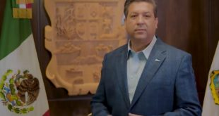Gobernador de Tamaulipas da positivo a prueba de Covid-19