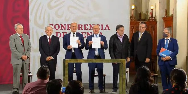 Gobierno y ONU firman convenio para compra de medicamentos