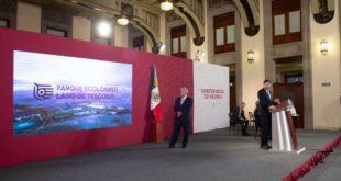 Parque ecológico en Lago de Texcoco abrirá en 2021