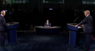 Ni mención de México en primer debate presidencial entre Trump y Biden