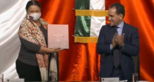 Hacienda entrega Paquete Económico 2021 en San Lázaro