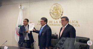 Senado recibe petición de AMLO para consulta contra expresidentes