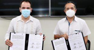 Hacienda y gobierno de Quintana Roo firman convenio para combatir delitos fiscales