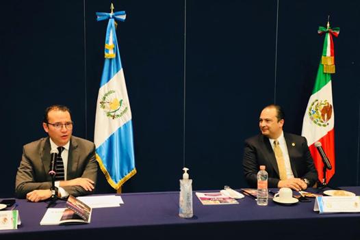 SLP, Xavier Nava Palacios y el embajador Mario Búcaro acordaron la importancia de generar alianzas para potenciar la inversión
